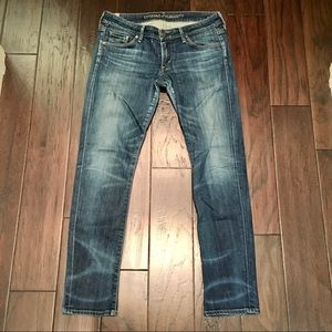 CITIZENS OF HUMANITY RACER LOW RISE SKINNY JEAN 29